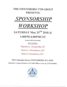 Sponsorship Workshop @ 320 Club