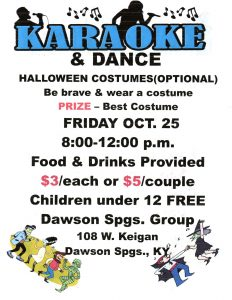Dawson Springs Group Karaoke & Dance