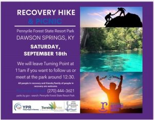 Recovery Hike and Picnic @ Pennyrile Forest State Resort Park